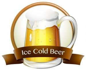 Ice Cold Beer Graphic